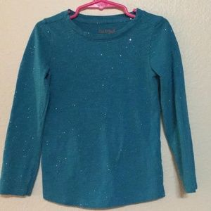 Adorable Cat & Jack Sparkly Long Sleeve